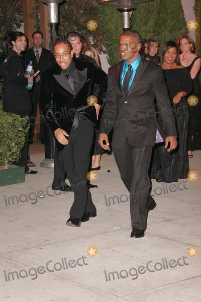 Ludacris, Jamie Foxx, Jamie Salé Photo - Ludacris and Jamie Foxxat 2006 Vanity Fair Oscar Party. Morton's, West Hollywood, CA. 03-05-06