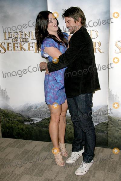 Bridget Regan Craig Horner Photo Bridget Regan And Craig Horner At The Disney And