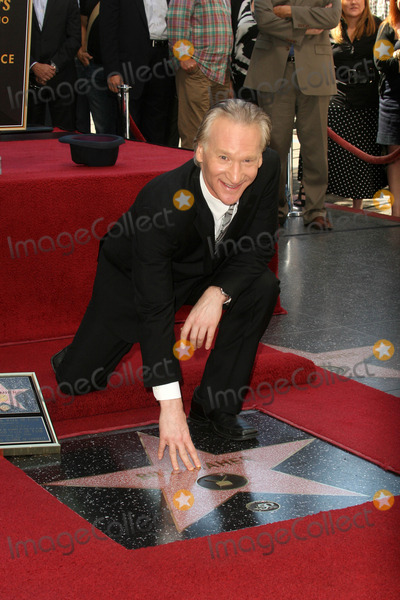 Bill Maher Photo - Bill Maher at the induction ceremony for Bill Maher into the Hollywood Walk of Fame, Hollywood, CA. 09-14-10