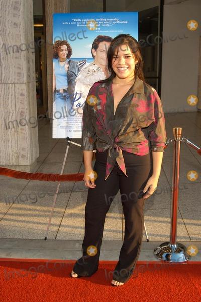 """America Ferrera Photo - America Ferrera at """"Passionada"""" Premiere, Cinerama Dome, Hollywood, Calif., 08-14-03"""