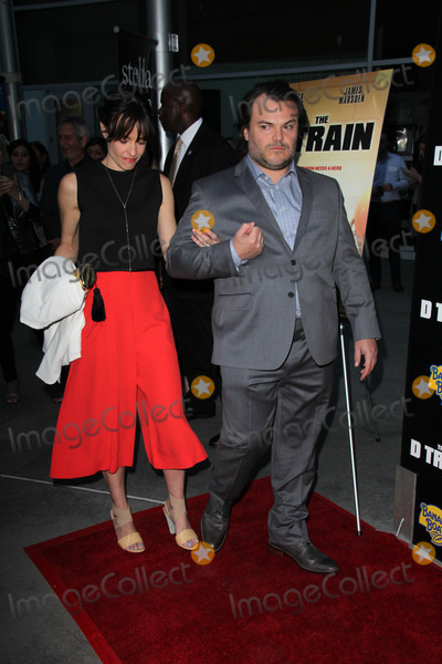 "Jack Black, Tanya Haden, Train, Jackée Photo - Jack Black, Tanya Haden at the ""D Train"" Los Angeles Premiere, Arclight, Hollywood, CA 04-27-15"
