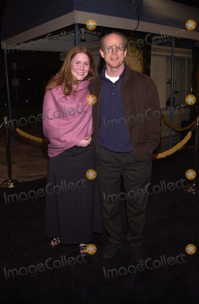 "Ron Howard Photo -  Ron Howard and daughter Paige at the premiere of Dreamwork's ""THE ROAD TO EL DORADO"" in Westwood, 03-29-00"