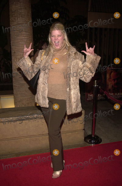 "Sarah Ann Morris Photo - Sarah Ann Morris at the premiere of Warner Brother's ""The Pledge"" at the Egypyian Theater, Hollywood, 01-09-01"