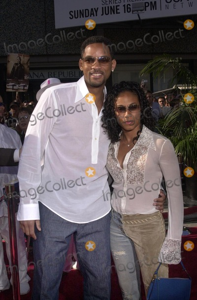 Will Smith Photo - Will Smith and Jada Pinkett at the 2nd Annual BET Awards, held at the Kodak Theater, Hollywood, 06-25-02