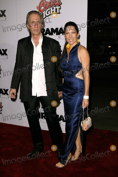 "David Carradine, Annie Bierman Photo - David Carradine and Annie Bierman at the Los Angeles premiere of Miramax's ""Kill Bill Vol. 1"" at the Chinese Theater, Hollywood, CA 09-29-03"
