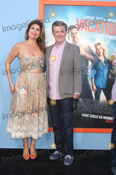 Alan Thicke, Tanya Callau, The Vacation Photo - Alan Thicke, Tanya Callau