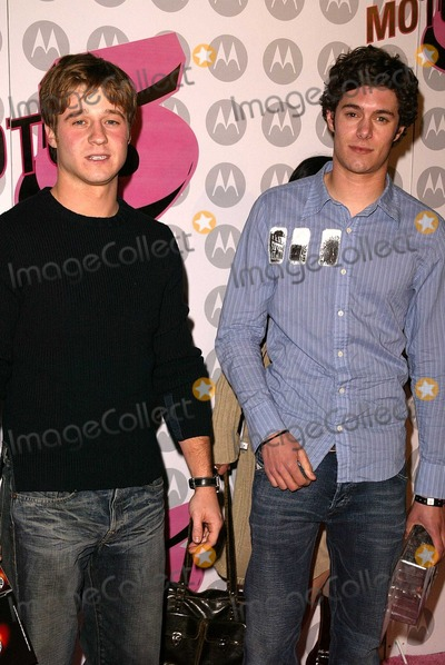 Ben McKenzie, Adam Brody Photo - Ben McKenzie and Adam Brody at Motorola's 5th Anniversary Party for Toys for Tots, Private Location, Culver City, CA 12-05-03