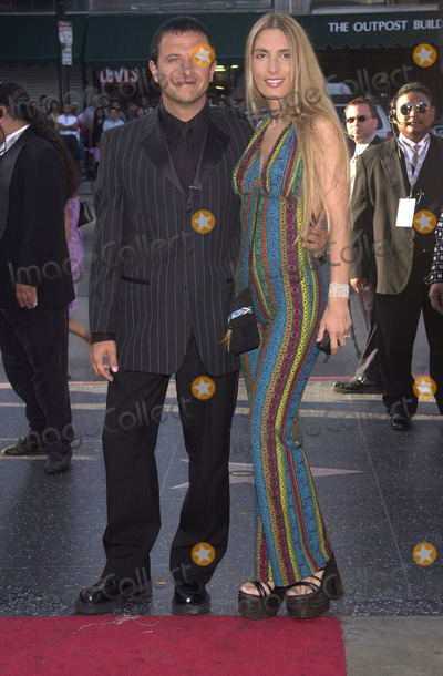 Anthony Quinn Photo - Eduardo Polomo and Carina Rico at the Los Angeles Latino Film Festival awards ceremony and tribute to Anthony Quinn, Egyptian Theater, Hollywood, 07-28-01