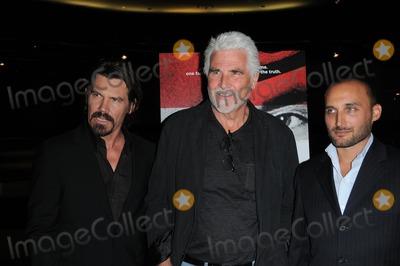 "Amir Bar-Lev, James Brolin, Josh Brolin Photo - Josh Brolin, James Brolin and Amir Bar-Lev at ""The Tillman Story"" Screening, Pacific Design Center, West Hollywood, CA. 08-12-10"