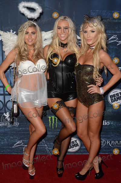 Photo - Bri Teresi, Katie Teresi, Liv Jaeger at the 2016 Maxim Halloween Party, Shrine Auditorium, Los Angeles, CA 10-22-16