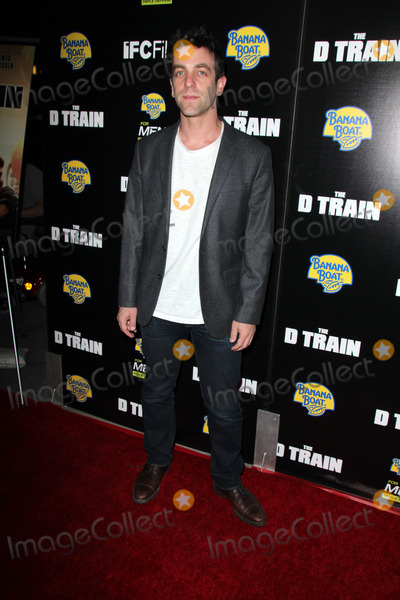 "B J Novak, B. J. Novak, B.J. Novak, Train, B.J NOVAK Photo - B. J. Novak at the ""D Train"" Los Angeles Premiere, Arclight, Hollywood, CA 04-27-15"