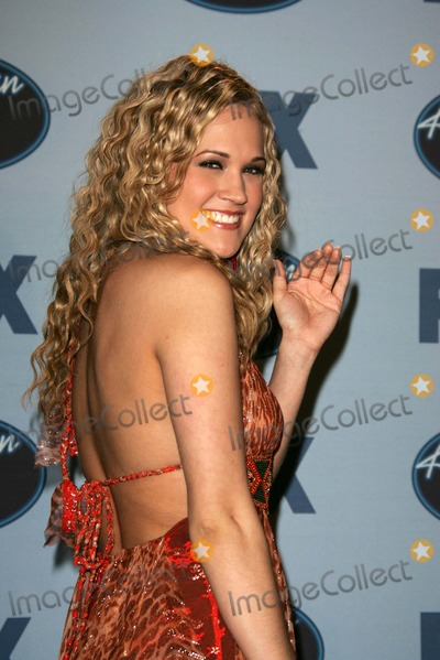 Photos And Pictures Carrie Underwood At The American Idol Season 4 Finale Press Room Kodak Theater Hollywood Ca 05 25 05