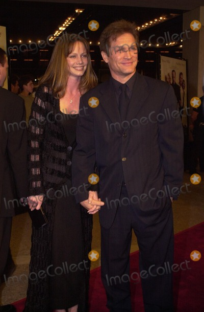 """Andrew Stevens, Robyn Photo -  Andrew Stevens and wife Robyn at the premiere of Warner Brother's """"The Whole Nine Yards"""" in Century City, 02-17-00"""