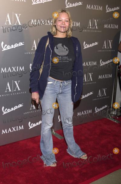 Alexandra Holden Photo -  ALEXANDRA HOLDEN at the Armani Santa Monica's 10th Anniversary Party, Santa Monica Promenade,  08-23-01