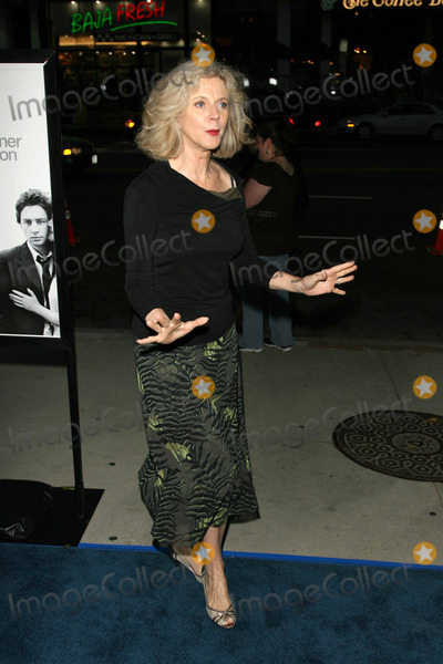 """Blythe Danner, Kiss, BLYTH DANNER Photo - Blythe Dannerat the Los Angeles Premiere of """"The Last Kiss"""". Directors Guild of America, Hollywood, CA. 09-13-06"""