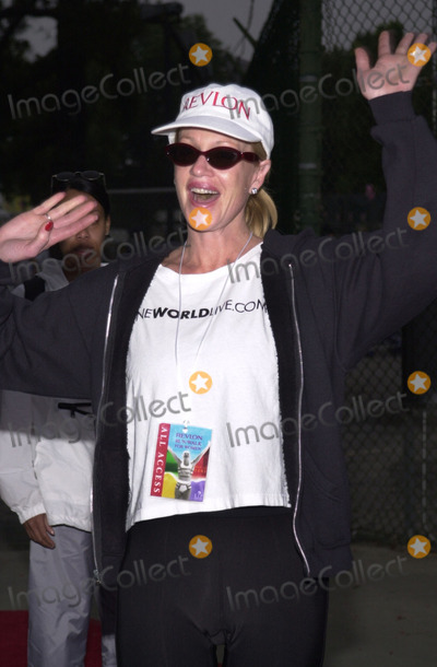 Melanie Griffith, Melanie Griffiths Photo -  Melanie Griffith at the 8th Annual Revlon Run/Walk for women's cancer research, Los Angeles Coliseum, 05-12-01