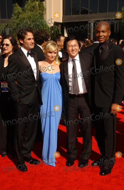 Adrian Pasdar, Kristen Bell, Masi Oka, Leonard Roberts Photo - Adrian Pasdar and Kristen Bell with Masi Oka and Leonard Roberts