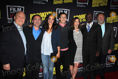 Andre Braugher, Andy Samberg, Joe Lo Truglio, Chelsea Peretti, Melissa Fumero, Dirk Blocker Photo - Dirk Blocker. Joe Lo Truglio, Melissa Fumero, Andy Samberg, Chelsea Peretti, Andre Braugher, Joel McKinnon Miller