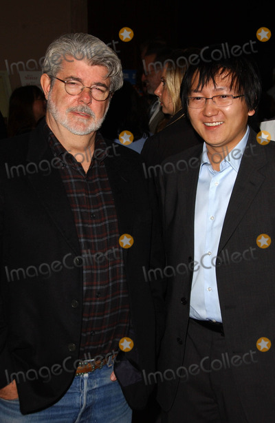 George Lucas, Masi Oka, (+44), +44 Photo - George Lucas and Masi Oka