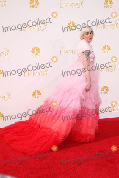 Lena Dunham Photo - Lena Dunham at the 66th Annual Emmy Awards Arrivals, Nokia Theater, Los Angeles, CA 08-25-14
