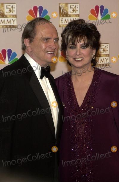Bob Newhart, Suzanne Pleshette Photo - Bob Newhart and Suzanne Pleshette at the 54th Annual Emmy Awards Press Room, Shrine Auditorium, Los Angeles, CA 09-22-02