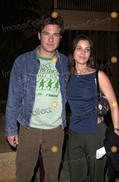 "Jason Bateman Photo -  Jason Bateman and wife Amanda at the premiere of Artisan Entertainment's ""Requiem For A Dream"" in Hollywood, 10-16-00"