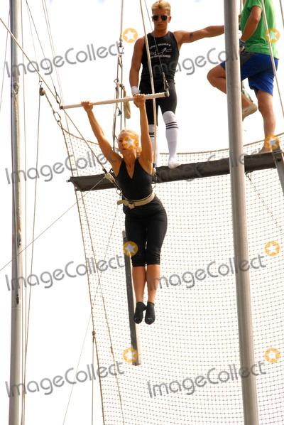Ashley Marriott, Kerri Kasem, Kerry Kasem Photo - Ashley Marriott at Kerri Kasem's Birthday party held at the  Flying Gaona Brothers Trapeze School,  Woodland Hills, CA. 07-11-10
