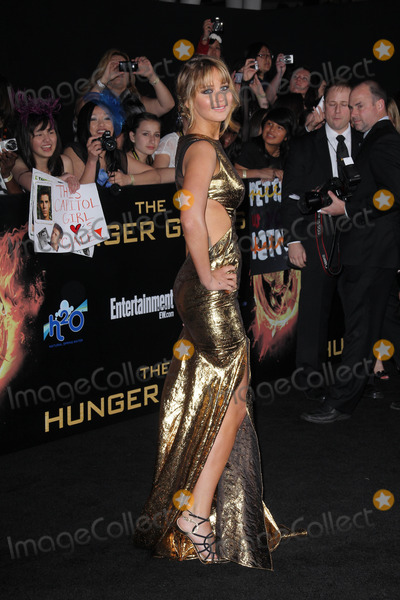 """Jennifer Lawrence, The Game Photo - Jennifer Lawrence at """"The Hunger Games"""" Los Angeles Premiere, Nokia Theater, Los Angeles, CA 03-12-12"""