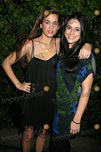 Anna Chonacas, Katie Chonacas, Anna Maria Perez de Taglé Photo - Katie Chonacas and Anna Chonacasat the Katie Chonacas music video debut party. Les Deux, Hollywood, CA. 02-21-09