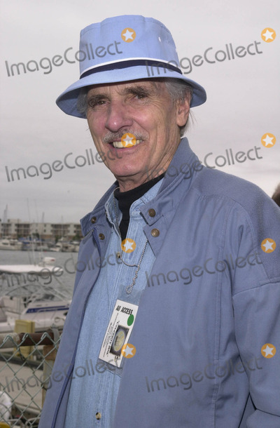 Dennis Weaver, Reef Photo -  DENNIS WEAVER at the celebrity sail for the Planetary Coral Reef Foundation, Marina Del Ray , 06-20-01 at the celebrity sail for the Planetary Coral Reef Foundation, Marina Del Ray, 06-02-01