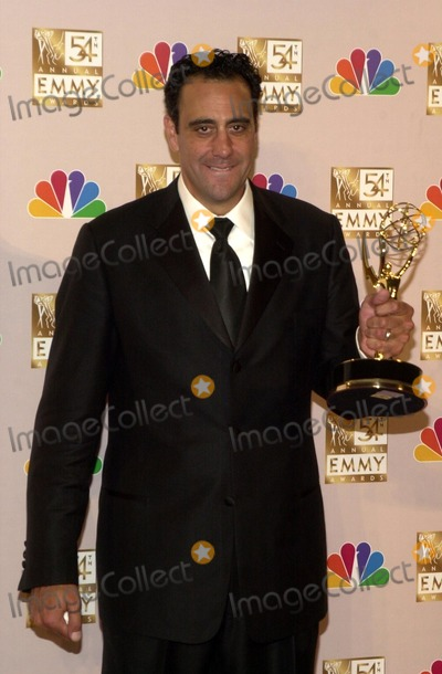 Brad Garrett Photo - Brad Garrett at the 54th Annual Emmy Awards Press Room, Shrine Auditorium, Los Angeles, CA 09-22-02