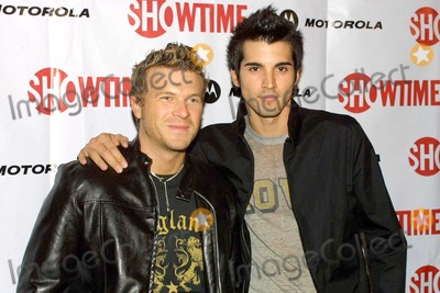 """Christian Taylor, Adrian Armas Photo - Christian Taylor and Adrian Armas at the Season Four Launch Party for """"Queer As Folk"""" at the Regent Showcase Theater, Hollywood, CA. 04-14-04"""