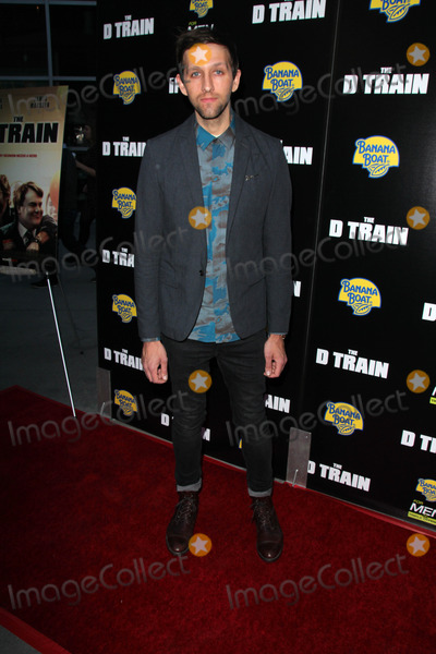 """Train, Andrew Dost Photo - Andrew Dost at the """"D Train"""" Los Angeles Premiere, Arclight, Hollywood, CA 04-27-15"""