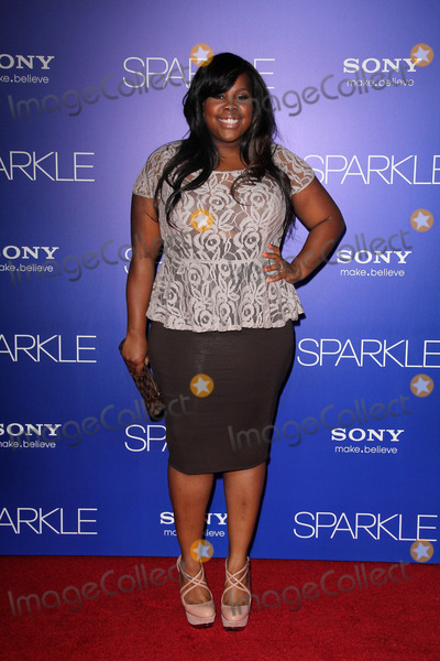 """Amber Riley Photo - Amber Riley at the """"Sparkle"""" Premiere, Chinese Theater, Hollywood, CA 08-16-12"""