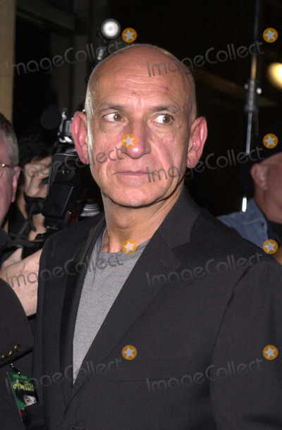 """Ben Kingsley, Samuel Goldwyn Photo -  BEN KINGSLEY at the premiere of Miramax's """"Amelie"""" at the Academy of Motion Pictures Arts and Sciences Samuel Goldwyn Theater, Beverly Hills, 10-09-01"""