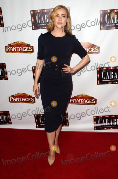 "Amanda Schull Photo - Amanda Schull at the ""Cabaret"" Opening Night, Pantages, Hollywood, CA 07-20-16"