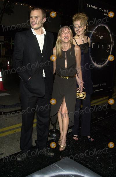 "Heath Ledger, Naomi Watts, Nicole Kidman Photo - Heath Ledger, Naomi Watts and Nicole Kidman at the premiere of Dreamwork's ""The Ring"" at Mann Bruin Theater, Westwood, CA 10-09-02"