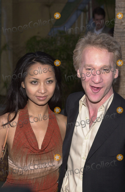 "Bill Maher, Angel Eyes Photo -  Bill Maher and Thi Lieu at the premiere of Warner Brother's ""Angel Eyes"" at the Egyptian Theater, Hollywood, 05-15-01"