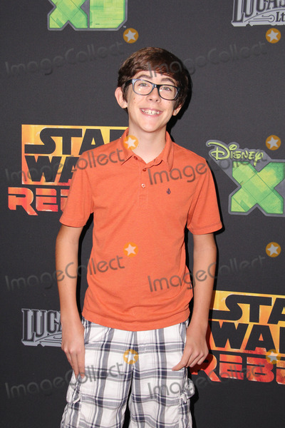 """David Edwards, Augie Isaac Photo - Augie Isaac at the premiere of """"Star Wars Rebels,"""" AMC Century City, Century City, CA 09-27-14 David Edwards/DailyCeleb.com 818-915-4440"""