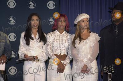 Destiny's Child, Grammy Awards Photo - Destiny's Child at the 2002 Grammy Awards Nominations Announcement, Beverly Hilton Hotel, Beverly Hills, 01-04-02