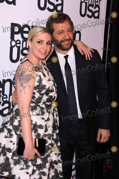 Judd Apatow, Lena Dunham Photo - Lena Dunham, Judd Apatow