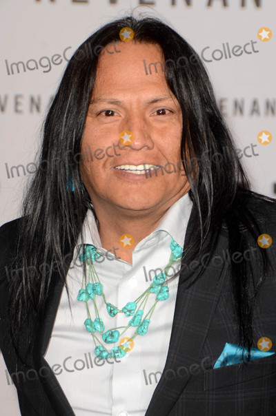 """Arthur Redcloud Photo - Arthur Redcloud at """"The Revenant"""" Los Angeles Premiere, TCL Chinese Theater, Hollywood, CA 12-16-15"""