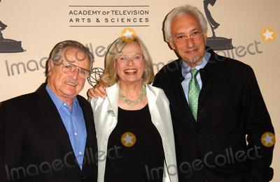 """Bonnie Bartlett, Steven Bochco, William Daniels Photo - William Daniels with Bonnie Bartlett and Steven Bochco at the """"Another Opening, Another Show: A Celebration Of TV Theme Music"""" presented by ATAS. The Leonard H. Goldenson Theater, North Hollywood, CA. 10-11-07"""