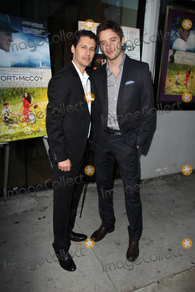 """Johnny Pacar, Andy Hirsch Photo - Andy Hirsch, Johnny Pacar at the """"Fort McCoy"""" Premiere, Music Hall Theater, Beverly Hills, CA 08-15-14"""