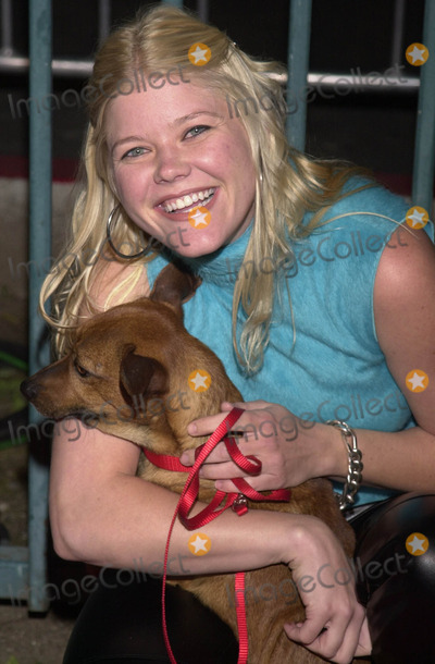 Sarah Ann Morris Photo -  Sarah Ann Morris at the launch party for Animal Avengers, Club Vynyl, Hollywood, 04-12-01