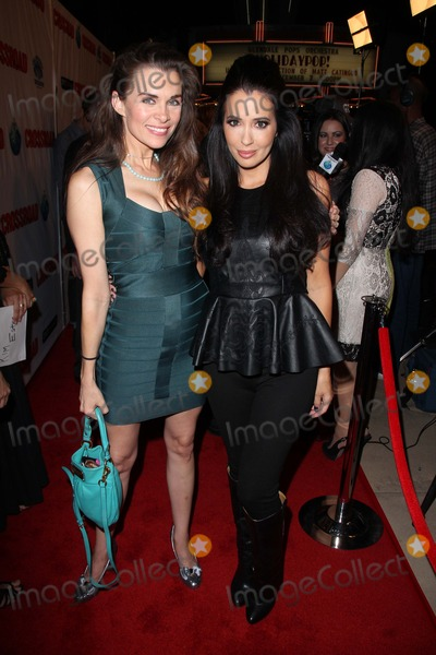 """Alicia Arden, Amy Weber Photo - Alicia Arden, Amy Weber at the Red Carpet Premiere for """"Crossroad,"""" Alex Theater, Glendale, CA 10-14-12"""