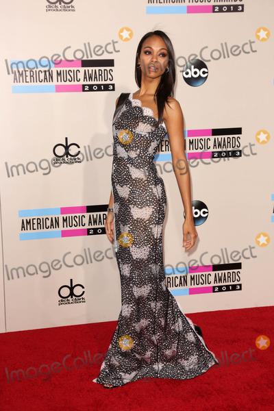Zoe Saldana Photo - Zoe Saldana at The 2013 American Music Awards - Arrivals , Nokia Theater, Los Angeles, CA 11-24-13