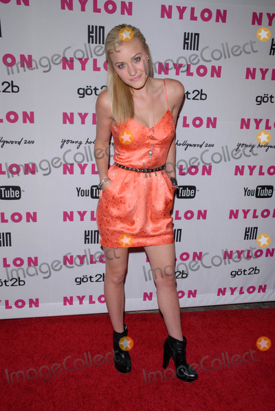A. J. Michalka, A.J. Michalka, AJ Michalka, AJ. Michalka Photo - A.J. Michalka at the NYLON Magazine's May Issue Young Hollywood Launch Party, Roosevelt Hotel, Hollywood, CA. 05-12-10