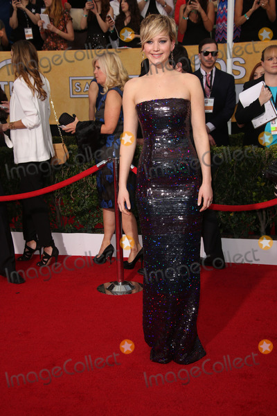 Jennifer Lawrence Photo - Jennifer Lawrence at the 20th Annual Screen Actors Guild Awards Arrivals, Shrine Auditorium, Los Angeles, CA 01-18-14