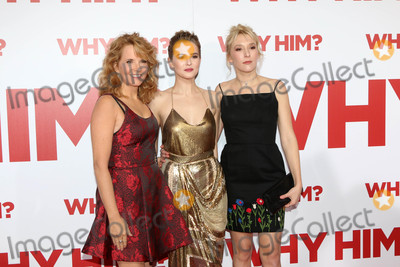 "Lea Thompson, Madelyn Deutch, Zoey Deutch Photo - Lea Thompson, Zoey Deutch, Madelyn Deutch at the ""Why Him?"" Premiere, Bruin Theater, Westwood, CA 12-17-16"